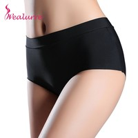 Wealurre Women's briefs stretching Boyshort Plus Size XXXL High waist underwear Women Sexy Ultra-thin Panties Seamless pants HOT