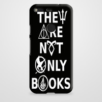 They Are Not Only Books Galaxy Nebula Google Pixel XL Case | casefantasy