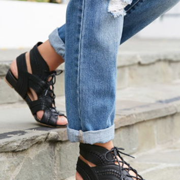 Dolce Vita Wylla Lace Up Sandals