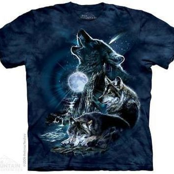 New WOLVES OF THE STORM MOON  T -SHIRT