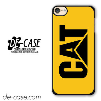 Yellow Caterpillar Logo DEAL-12123 Apple Phonecase Cover For Ipod Touch 6