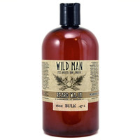 Beard Wash Shampoo BULK Discount Soap Natural Mens Beard Soap Wild Man 16oz