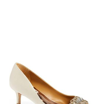 Women's Badgley Mischka 'Sensation' Peep Toe Pump,