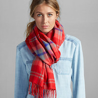 Women's Warm Yarn-dyed Scarf | Eddie Bauer