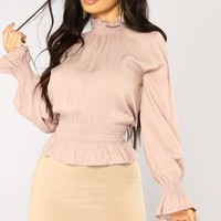 Lady Love Top - Mauve