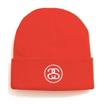 FA19 SS-Link Cuff Beanie Athletic Orange