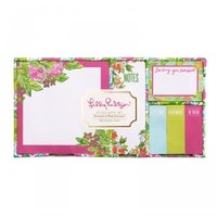 Lilly Pulitzer Pink Lemonade Sticky Note Set