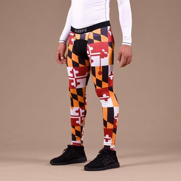 Maryland Beast State Flag Tights for Men