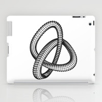 Shape 1 iPad Case by White Print Design