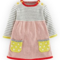 Infant Girl's Mini Boden Sweet Knit Sweater Dress,
