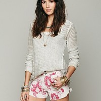 Free People Double Weave Cut Off