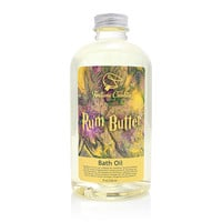 RUM BUTTER Bath Oil