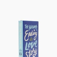 Kate Spade The Never Ending Love Story Book Clutch