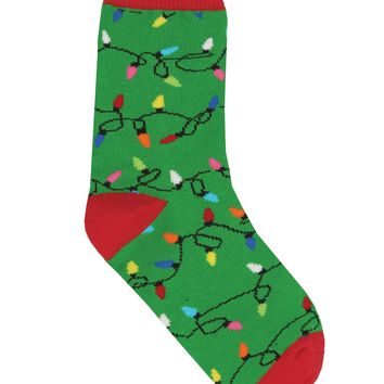 Kid's Christmas Light Socks