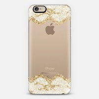 Double Faux Gold and White Romantic Lace iPhone 6 case by Organic Saturation | Casetify
