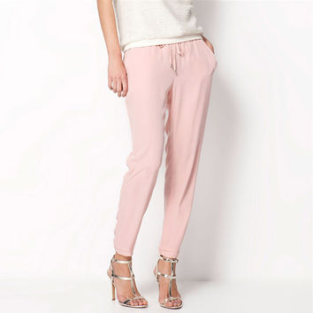 Casual Women Chiffon Pants