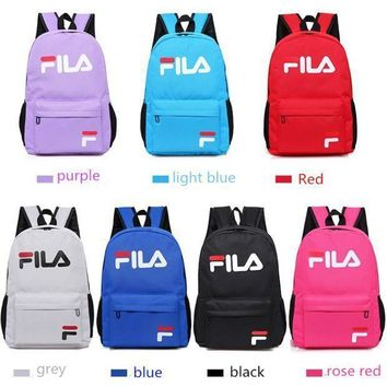 FILA Casual Sport School Shoulder Bag Satchel Laptop Bookbag Backpack3