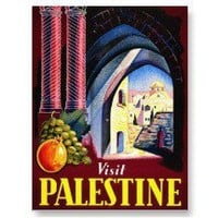Palestine, Jerusalem Post Cards