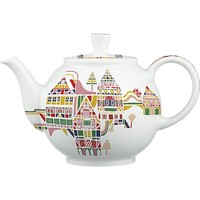 November Teapot by Julia Rothman in 50th Anniversary Teapots | Crate and Barrel