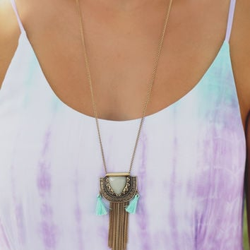 Mint For Me Necklace