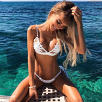 Beach Swimsuit Sexy New Arrival Hot Summer Swimwear Lace Bikini [1298762760308]