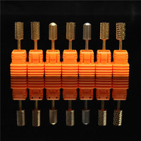 Stainless Steel Smooth Nail Drill Bits Machine Manicure Tools Polish File Grinding 3/32'' - Banggood Mobile