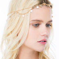 Spangled Paillette Head Chain