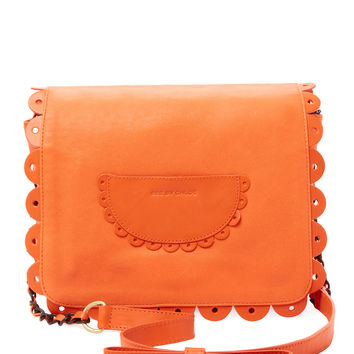See by Chloe Women's Large Scalloped Crossbody - Orange