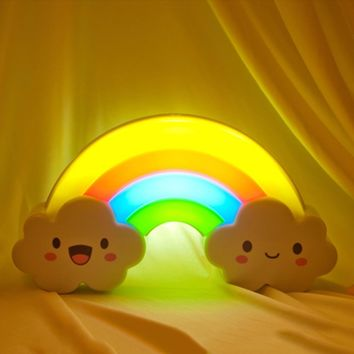 Rainbow Bridge Voice Touch Sensor LED Night Light