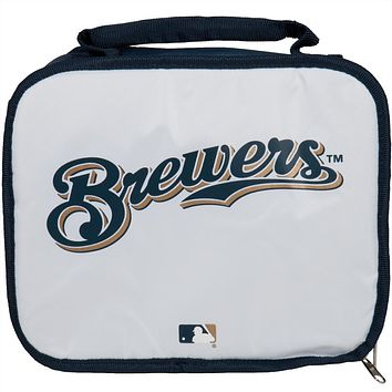 Milwaukee Brewers - Logo Soft White Lunch Box