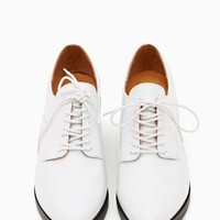Jeffrey Campbell Wesley Oxford - White