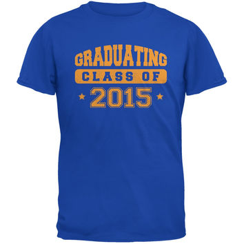Graduating Class of 2015 Royal Adult T-Shirt