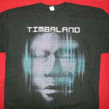 Timbaland T-Shirt Shock Value Tour Black Size XXL