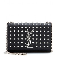 saint laurent - classic monogramme studded leather shoulder bag