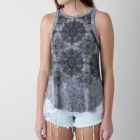 Women's Mineral Wash Tank Top in Grey by Daytrip.