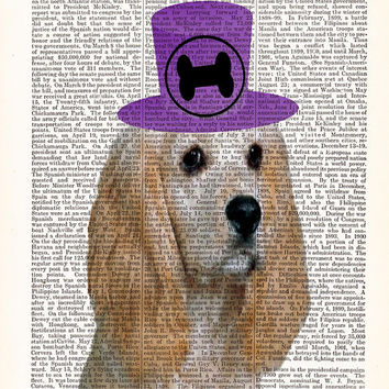 Cocker Spaniel Dog Print-Dictionary Print-Cute Puppy Poster-Dog Lover Poster-Dog Lover Gift-
