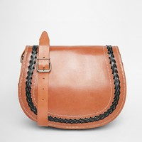 Park Lane Leather Saddle Bag