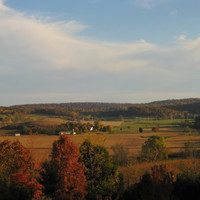 Countryside Fall/Autum Photo, 8X10 Landscape