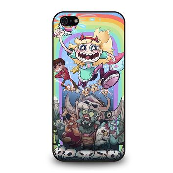 DISNEY STAR VS THE FORCE OF EVIL iPhone 5 / 5S / SE Case Cover
