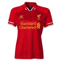 Liverpool 13/14 Women's Home Soccer Jersey - WorldSoccerShop.com