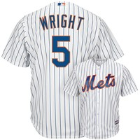 Majestic New York Mets David Wright Cool Base Replica MLB Jersey