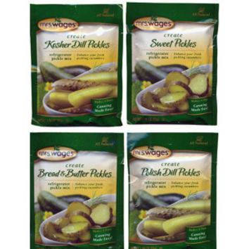 Refrigerator Pickle Mix Sampler Set