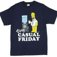 Homer Simpsons Very Casual Friday T-Shirt