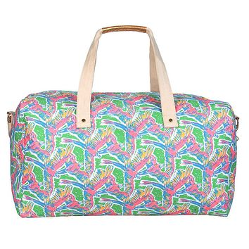 Weekender Duffel Bag in Macawl Me by Lauren James