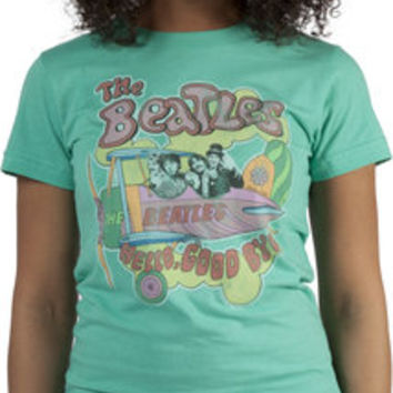 Hello Goodbye Beatles T-Shirt by Junk Food