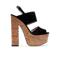 CORK SANDAL - Shoes - Woman | ZARA United States