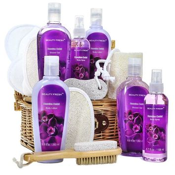 Hawaiian Spa in a Basket