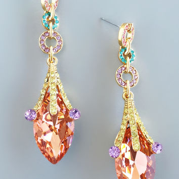 Bella Rosa Statement Earrings