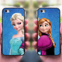 iPhone 5S case,Frozen Elsa and Anna,Best Friends,Sisters forever,iphone 5C case,iphone 5 case,iphone 4 case,ipod 4 case,ipod 5 case