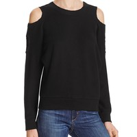 n:PHILANTHROPYSable Cold Shoulder Sweatshirt - 100% Bloomingdale's Exclusive